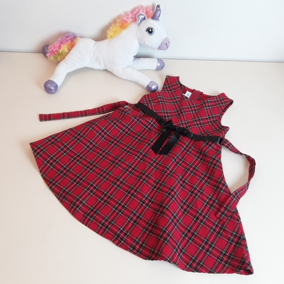 Bonnie Jean Other - Bonnie Jean Red Plaid Dress